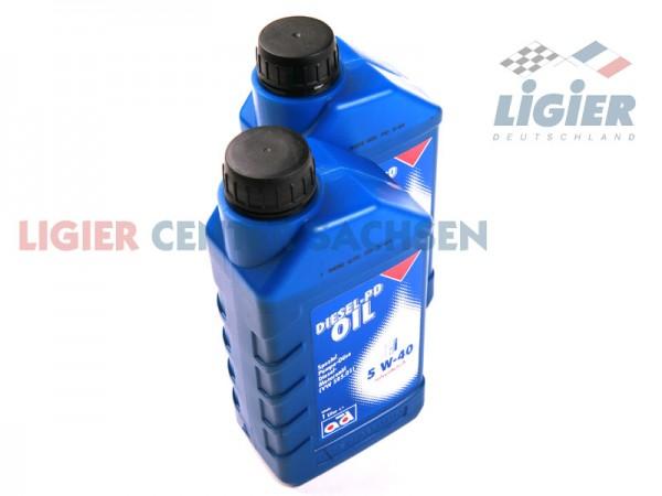 Motorenöl 2 Liter 5W-40 / Ideal für Ligier Fahrzeuge