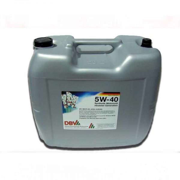 Motorenöl 5W40 5W-40 20 Liter - TOP ohne Versand in D!