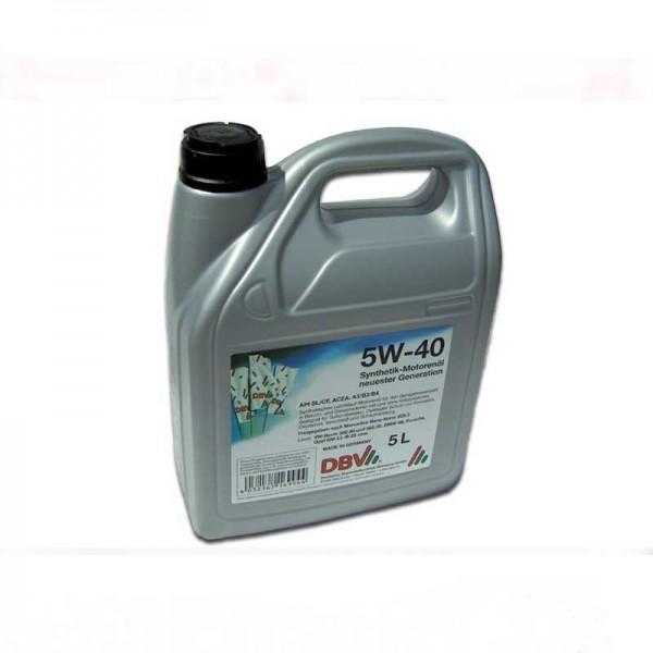 Motorenöl synthetisch 5W40 5W-40 5 Liter - TOP !